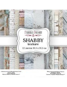 Set Shabby Texture 12 pulgadas