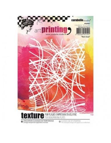 Textura de caucho Art printing nomwoven de carabelle.
