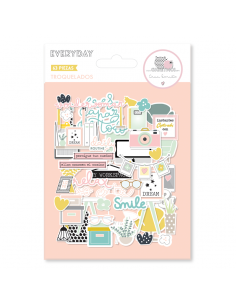 Die cuts Everyday de Gigi et moi