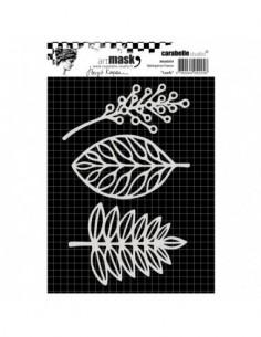 Máscara leafs carabelle