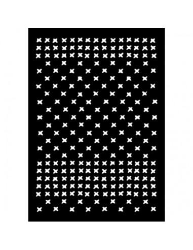 Stencil punto de cruz carabelle