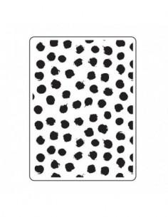 Carpeta de embossing blot dot