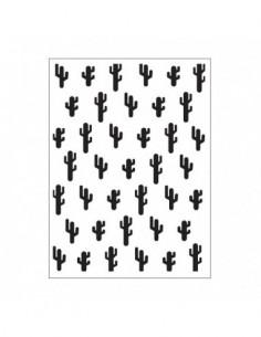 Carpeta de embossin cactus