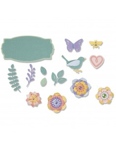 Troquel Spring Things By Lynda Kanase