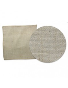 Hoja de tela de saco 30x30 cm Kraft