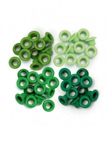 Eyelets verde