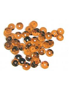 Lentejuela metalizada  naranja