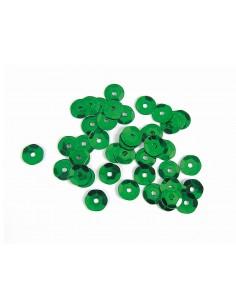 Lentejuela metalizada  verde