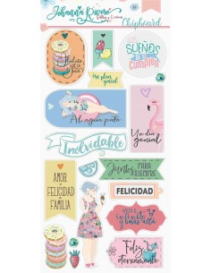 Chipboard Dulces momentos