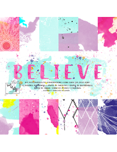 Kit Believe 12 pulgadas