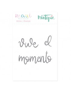 Sello Vive el momento