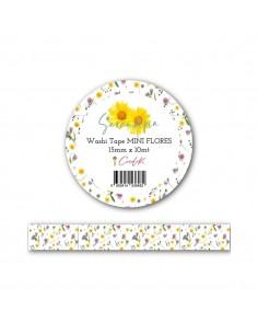 Washi Tape Mini Flores