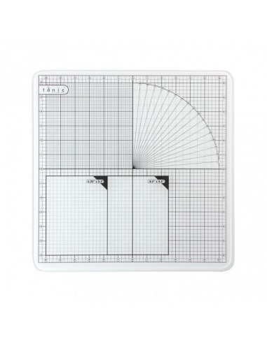 Tonic studios glass cutting mat 12 pulgadas