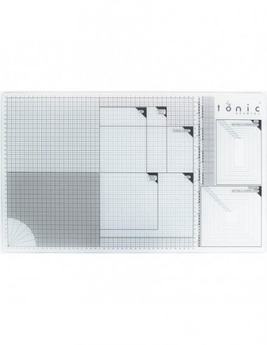 Tonic studios glass cutting mat A3