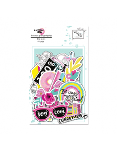 Die cuts Bubble Gum