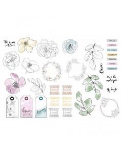 Die cuts Flora