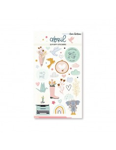 Puffy Stickers ABRIL