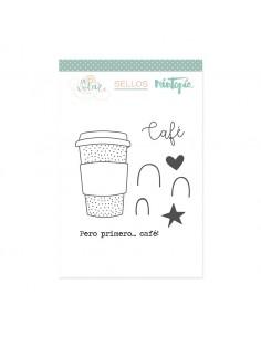 Sello Pero primero el café