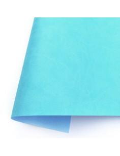 Ecopiel mate - Azul Caribe