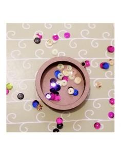 Shaker círculo 6 cm