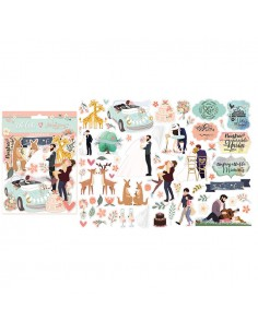 Die cuts Love story