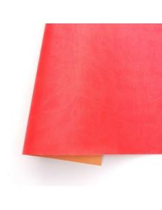 Ecopiel mate - Rojo lava