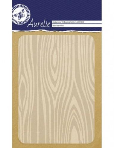 Carpeta embossing Fondo de madera