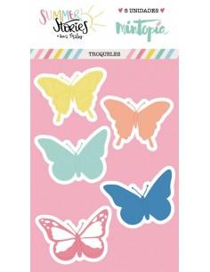 Troquel Mariposas de verano