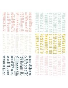 Mini alfabetos puffy Muérdago