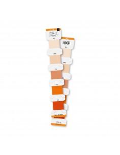 Set hilos de bordar Naranja