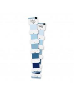 Set hilos de bordar Azul cielo
