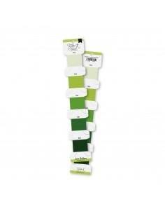 Set hilos de bordar Verde...