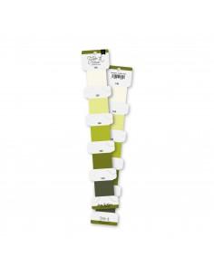 Set hilos de bordar Verde lima