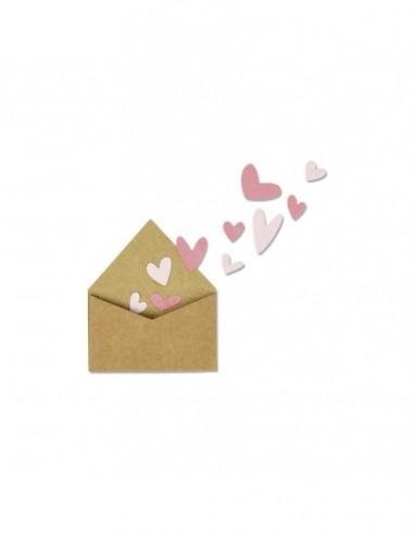 Troquel With love envelope