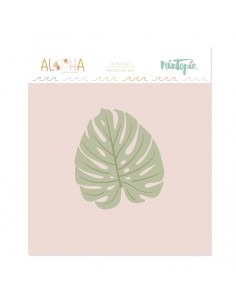 Troquel Aloha Monstera