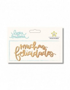 Maderita Muchas felicidades
