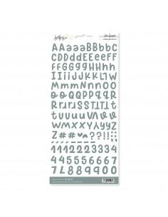 Alfabeto Eucalipto BABY M