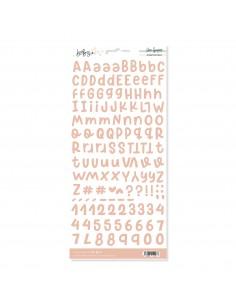 Alfabeto Peach BABY M
