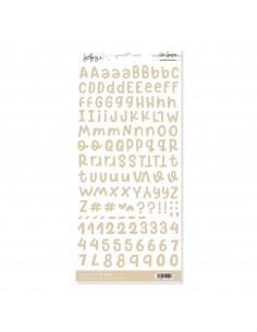 Alfabeto Beige BABY M
