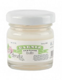 Barniz al agua brillo 30 ml Amelie