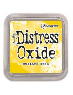 Distress oxide mustard seen