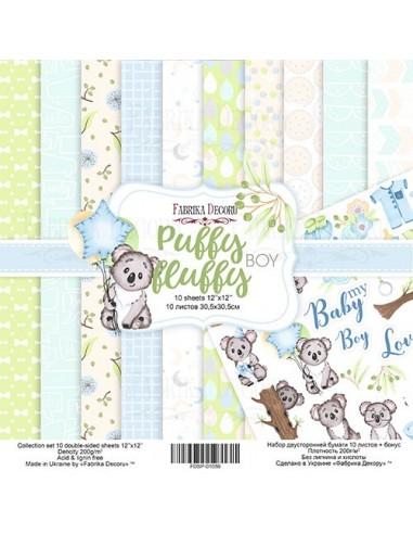 Set Puffy Fluffy Boy 12 pulgadas