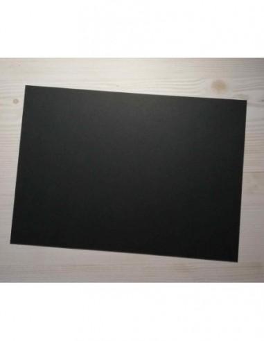 cartulina 32x45cm negra 250g