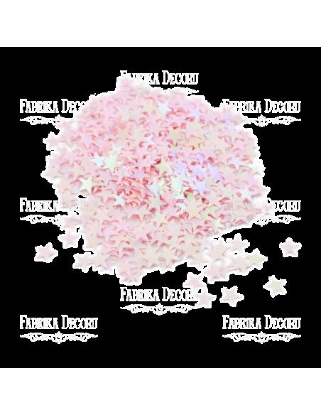 Lentejuela estrellita rosa