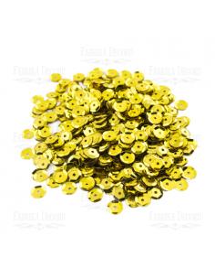 Lentejuela metalizada oro