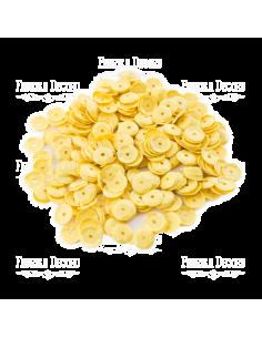 Lentejuela mate amarilla