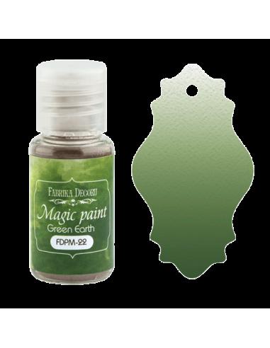 Magic paint Green Earth