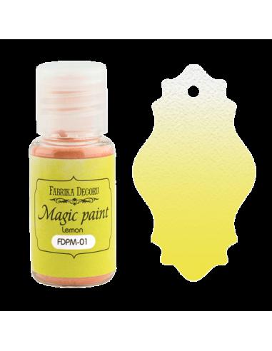 Magic paint Lemon