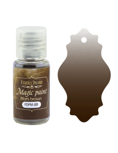 Magic paint Mars Brown
