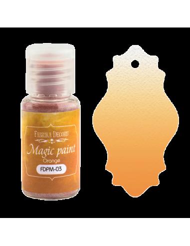 Magic paint Orange